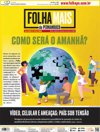 Capa do jornal Folha de Pernambuco 23/05/2020