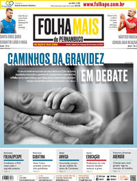 Capa do jornal Folha de Pernambuco 24/10/2020