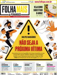 Capa do jornal Folha de Pernambuco 26/09/2020