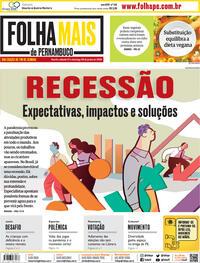 Capa do jornal Folha de Pernambuco 27/06/2020