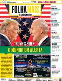Capa do jornal Folha de Pernambuco 31/10/2020