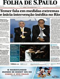 Folha de S.Paulo - 17-02-2018