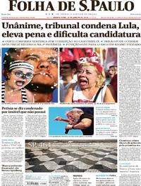 Folha de S.Paulo - 25-01-2018