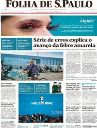 Folha de S.Paulo - 29-01-2018