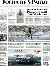 Capa Folha de S.Paulo 2019-10-17