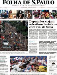 Capa Folha de S.Paulo 2019-06-24