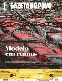Capa do jornal Gazeta do Povo 07/10/2017