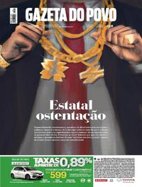 Capa Gazeta do Povo 2017-11-18