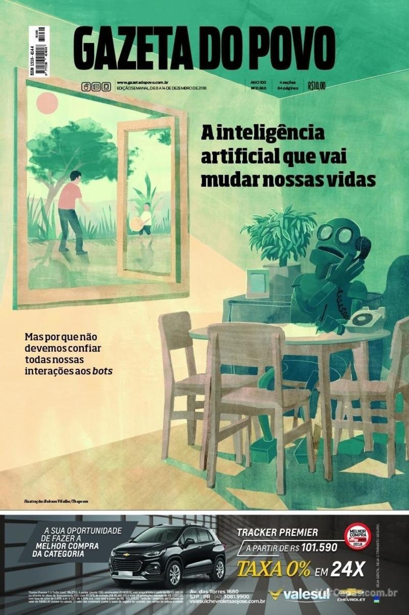 Capa Gazeta do Povo 2018-12-08