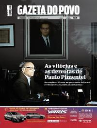 Capa Gazeta do Povo 2018-08-04