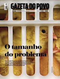Capa Gazeta do Povo 2018-03-10