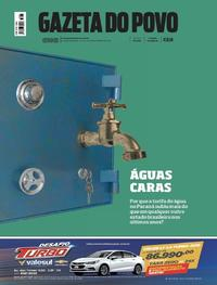 Capa Gazeta do Povo 2018-11-17