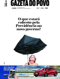 Capa Gazeta do Povo 2018-10-20