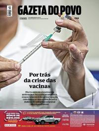 Capa Gazeta do Povo 2018-07-21