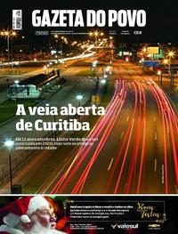 Capa Gazeta do Povo 2018-12-22