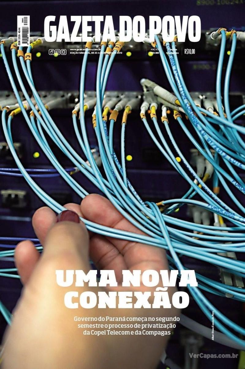 Capa Gazeta do Povo 2019-04-20