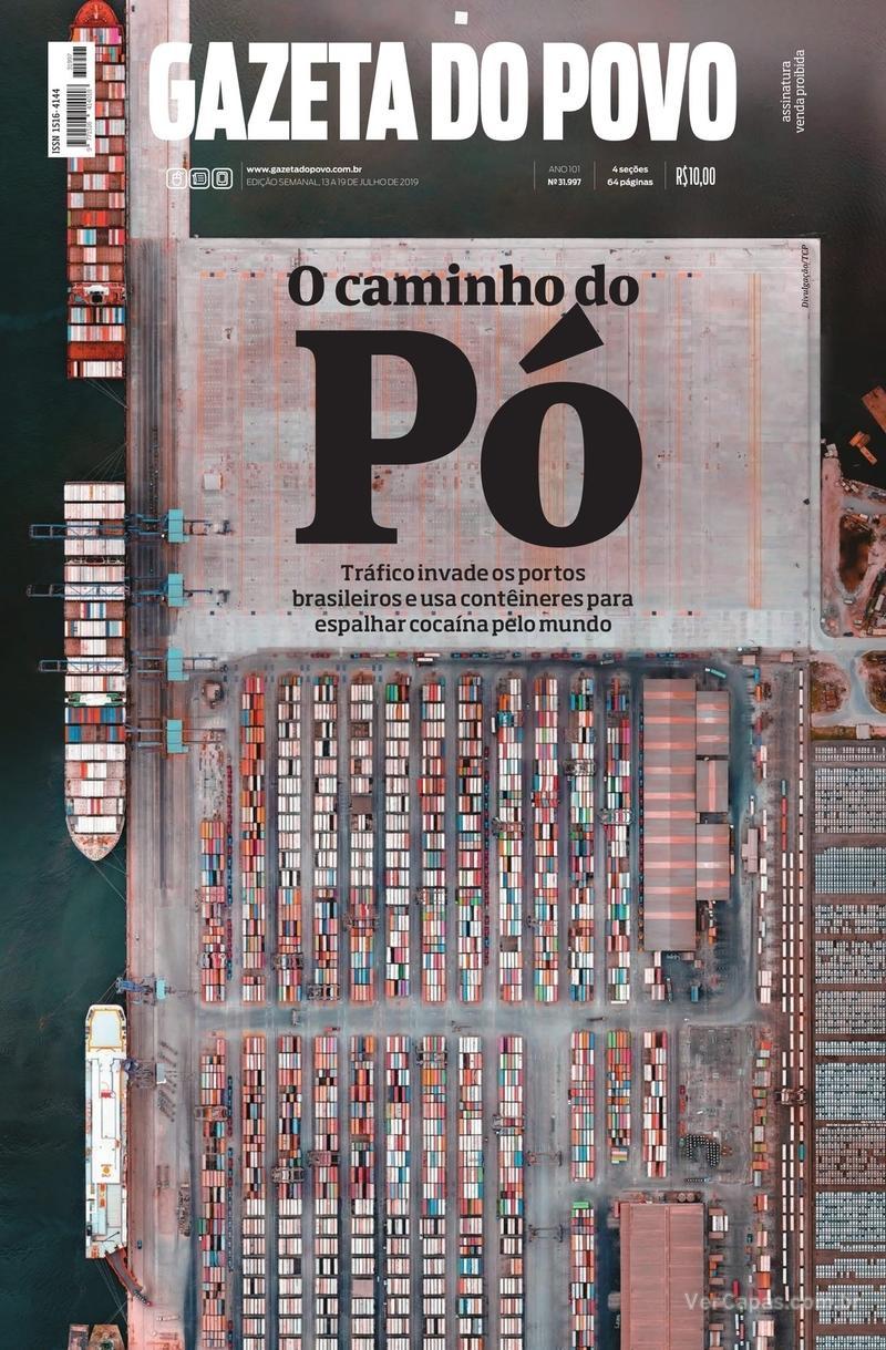 Capa jornal Gazeta do Povo