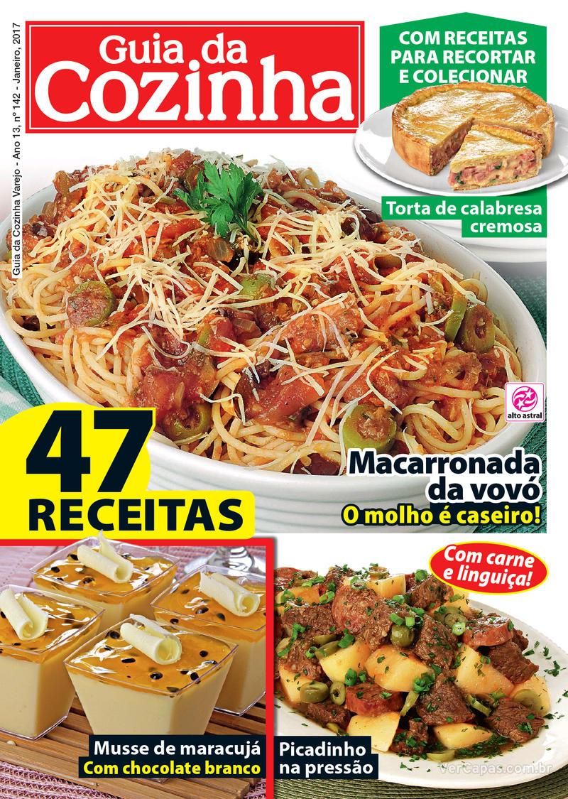 Capa da revista Guia da Cozinha 05/01/2017