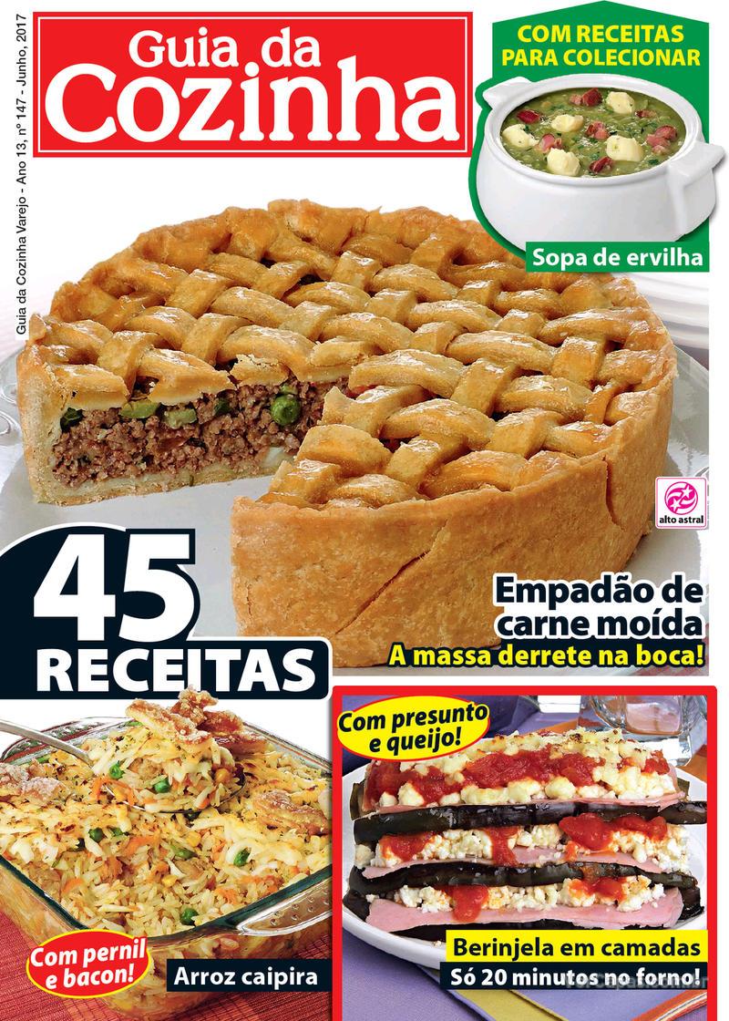 Capa da revista Guia da Cozinha 05/06/2017
