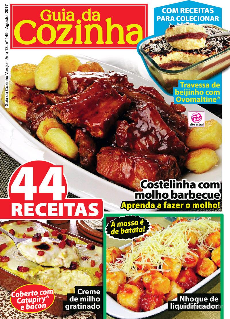 Capa da revista Guia da Cozinha 07/08/2017