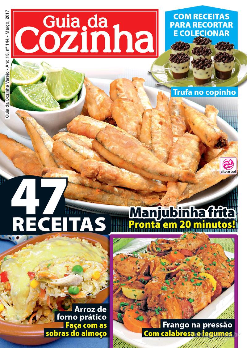 Capa da revista Guia da Cozinha 03/03/2017