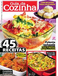 Capa da revista Guia da Cozinha 03/07/2017