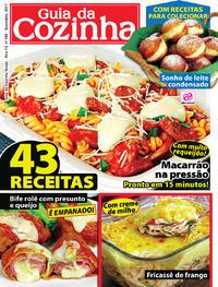 Capa da revista Guia da Cozinha 26/09/2017
