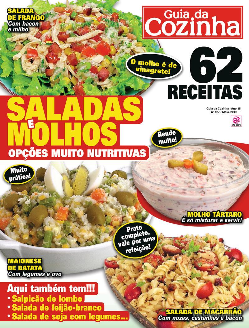 Capa da revista Guia da Cozinha 04/05/2019