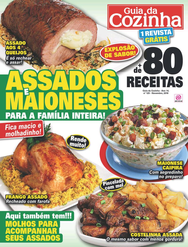 Capa da revista Guia da Cozinha 08/01/2019