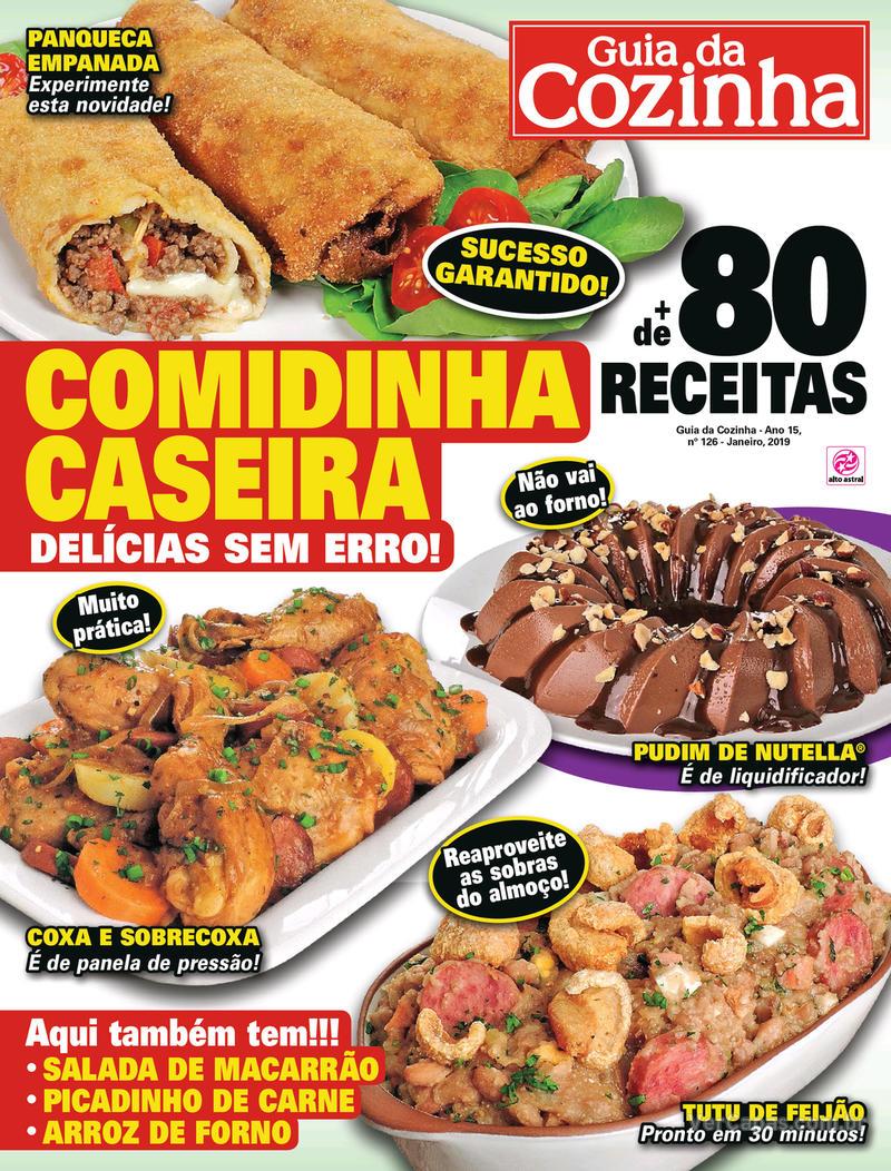 Capa da revista Guia da Cozinha 07/03/2019