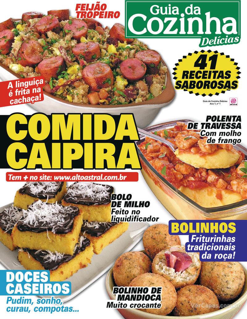 Capa da revista Guia da Cozinha 04/02/2020