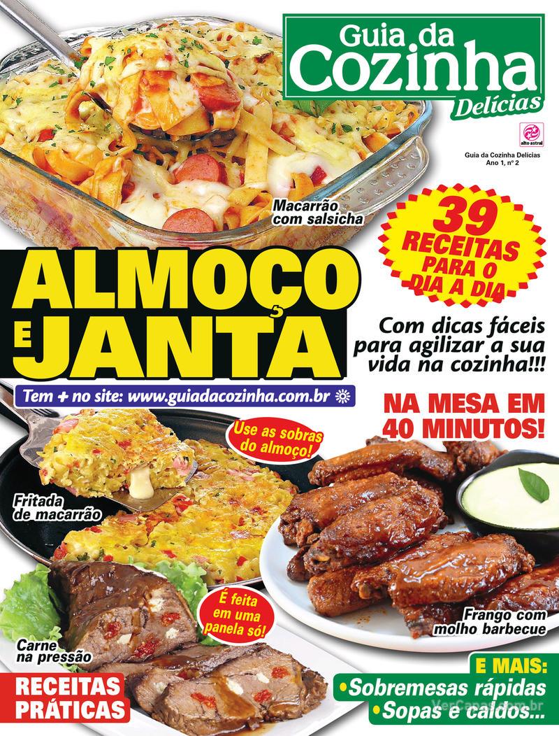 Capa da revista Guia da Cozinha 04/03/2020