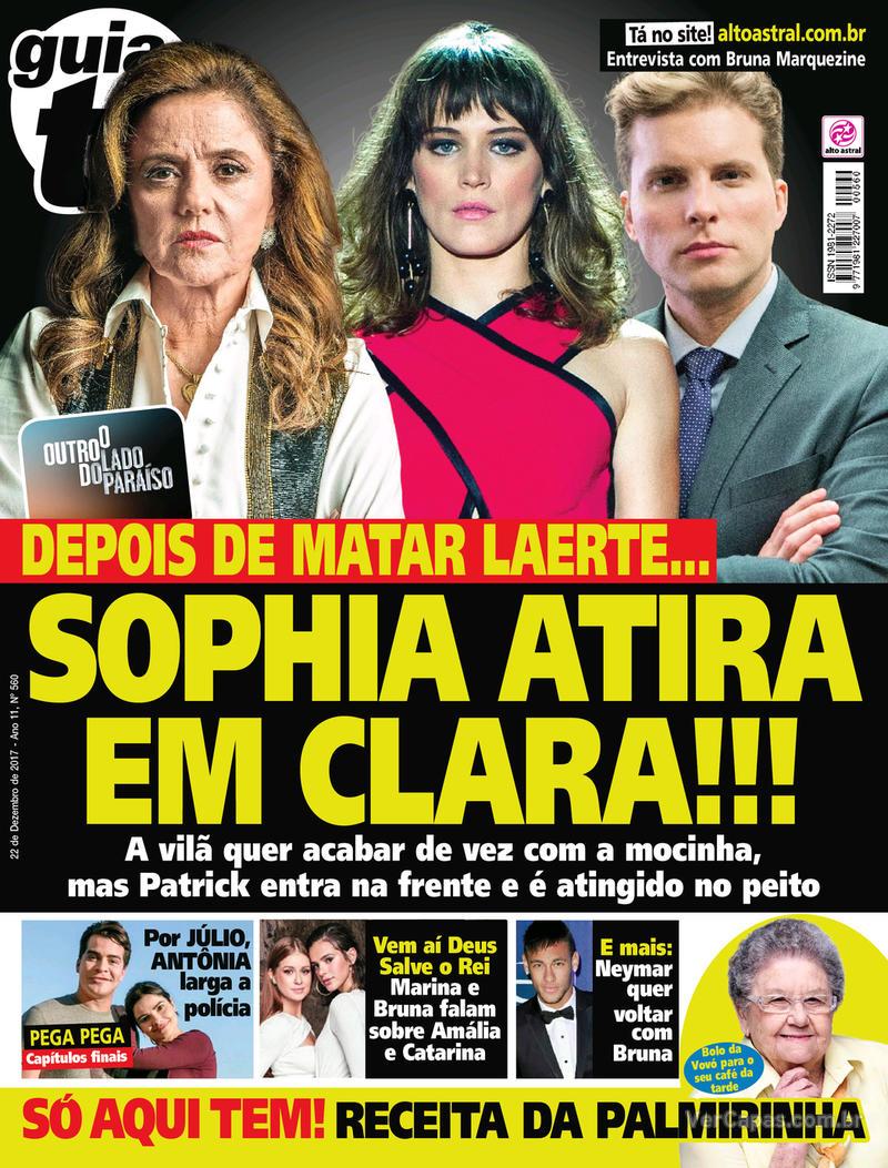 Capa da revista Guia da Tevê 20/12/2017
