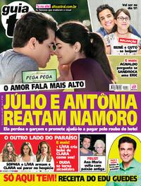 Capa da revista Guia da Tevê 01/11/2017