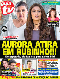 Capa da revista Guia da Tevê 04/10/2017