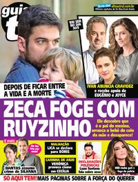 Capa da revista Guia da Tevê 06/09/2017