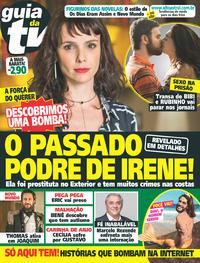 Capa da revista Guia da Tevê 07/06/2017