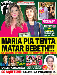 Capa da revista Guia da Tevê 08/11/2017