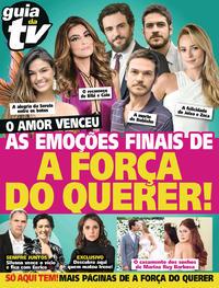Capa da revista Guia da Tevê 11/10/2017