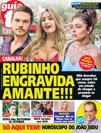 Capa da revista Guia da Tevê 13/09/2017