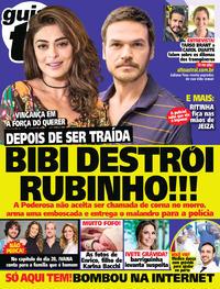 Capa da revista Guia da Tevê 16/08/2017