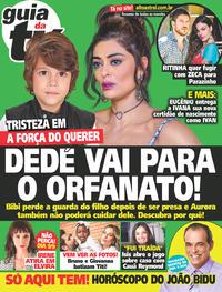 Capa da revista Guia da Tevê 23/08/2017