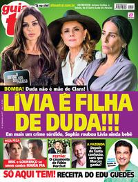 Capa da revista Guia da Tevê 29/11/2017