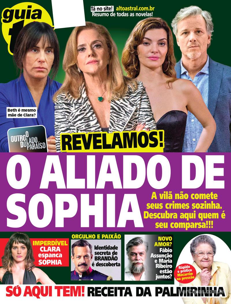Capa da revista Guia da Tevê 04/04/2018
