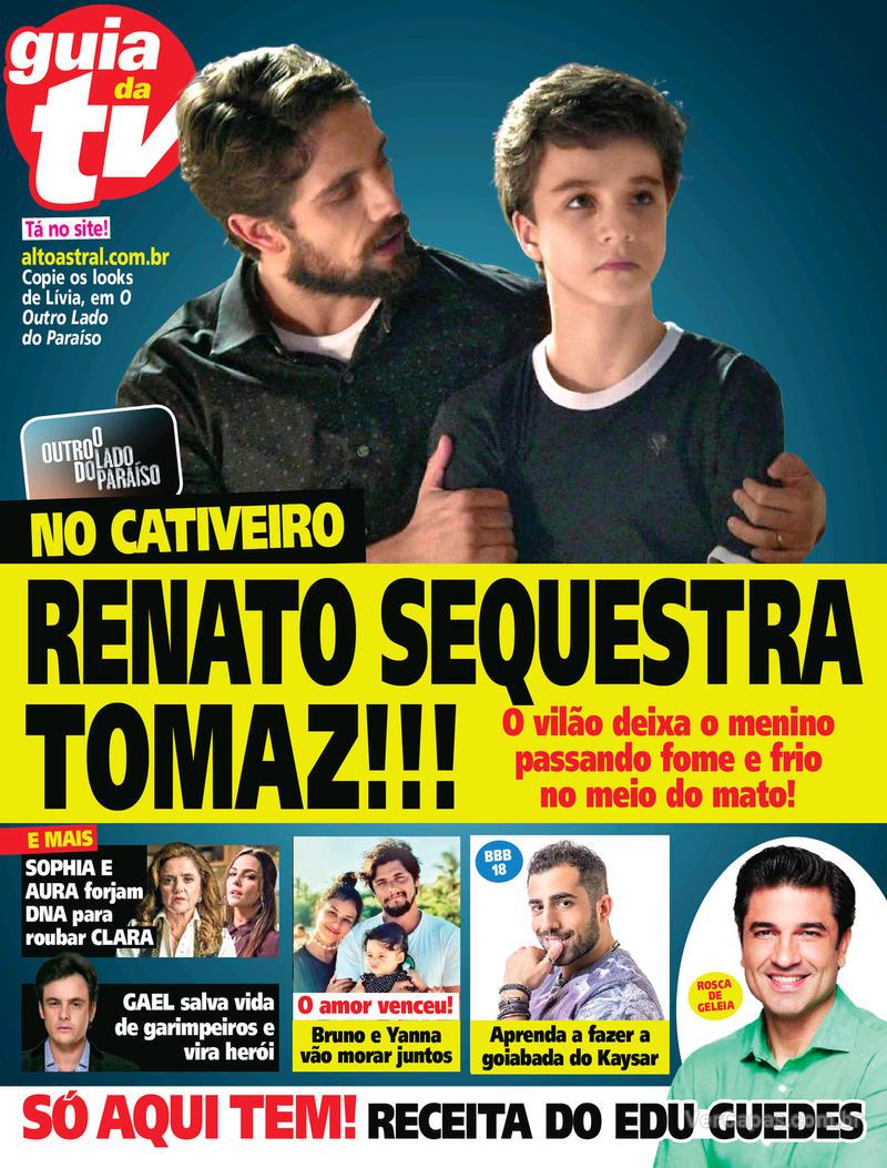 Capa da revista Guia da Tevê 28/02/2018