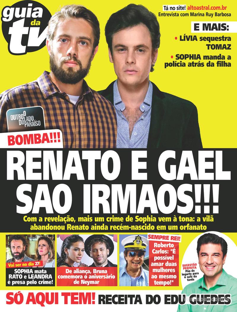 Capa da revista Guia da Tevê 07/02/2018