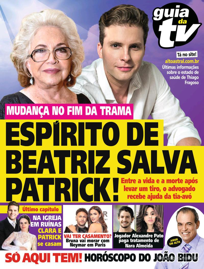 Capa da revista Guia da Tevê 02/05/2018