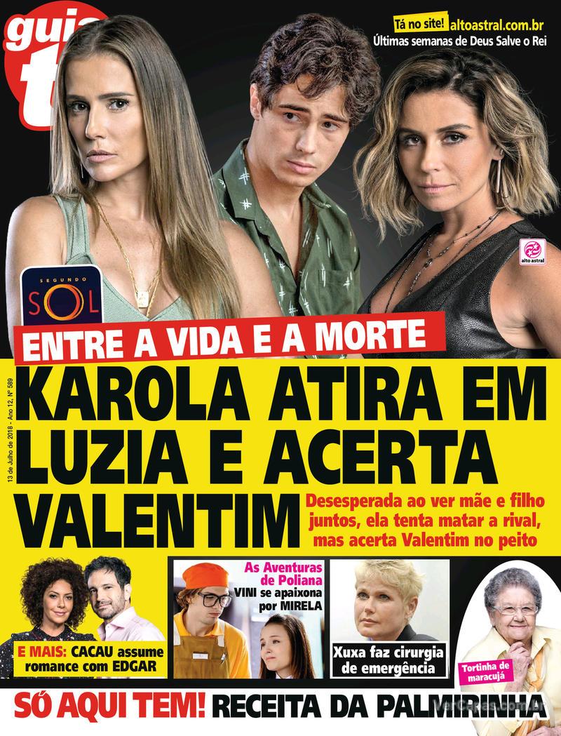 Capa da revista Guia da Tevê 11/07/2018
