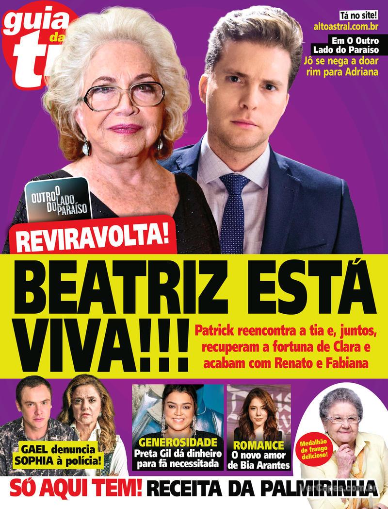 Capa da revista Guia da Tevê 21/03/2018