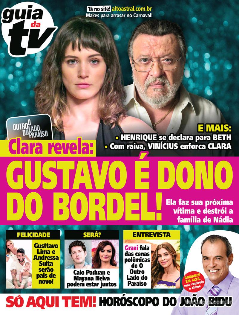 Capa da revista Guia da Tevê 24/01/2018